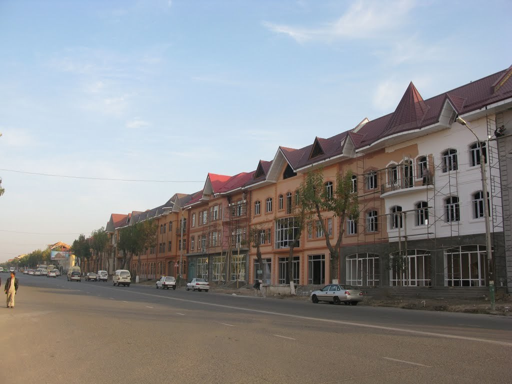 Living in Andizhan